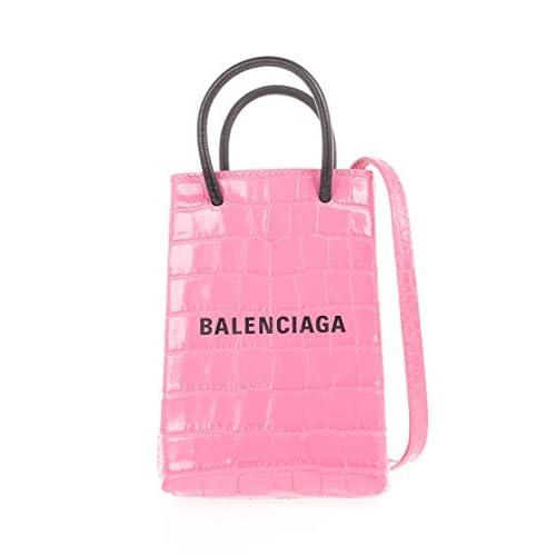 Balenciaga Luxury Fashion Donna 5938261U61N5860 Rosa Pelle Borsa A Mano | Autunno-inverno 20