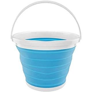 Southern Homewares Silicone Collapsible 2.65 Folding Gallon Bucket Blue (B017IG5SVO) | Amazon price tracker / tracking, Amazon price history charts, Amazon price watches, Amazon price drop alerts