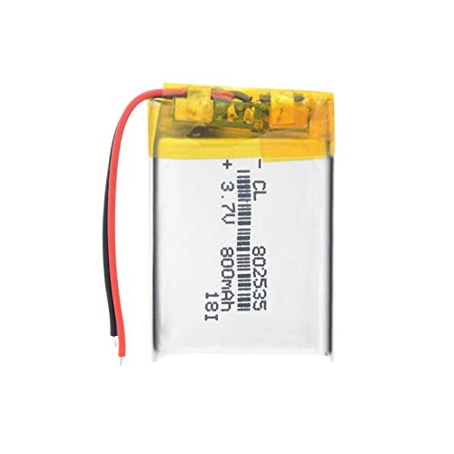 softpoint 3.7v 70mah 401120 Li Ion Lipo Celdas, Batería Recargable De PolíMero De Litio para Auriculares Bluetooth MóViles GPS Pos 40112070mAh2pcs