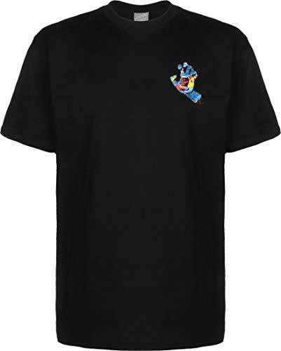 SANTA CRUZ Primary Hand T-Shirt Black