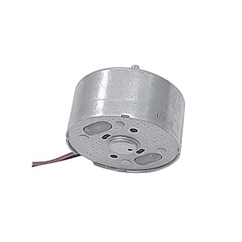 Sixcup Mini Solar Power Motor Micro 300 DC3V 4,5V 5V DC Miniature Permanent Magnet Motor,Spielzeug Teile (Silver)