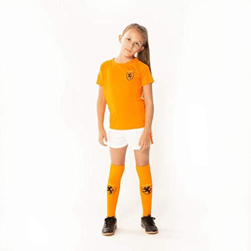 Oranje meisjes voetbaltenue - holland tenue - shirt/broek/sokken - leeuwinnen