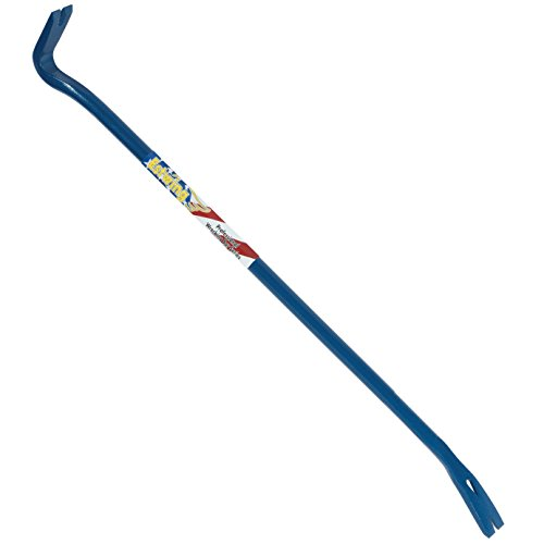 "Estwing Gooseneck Wrecking Bar PRO - 36"" Pry Bar with Angled Chisel End & Forged Steel Construction - EWB-36PS"