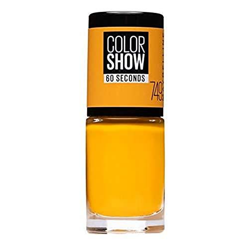 Maybelline New York Color Show, Esmalte de Uñas Secado Rápido, Tono: 749 Electric