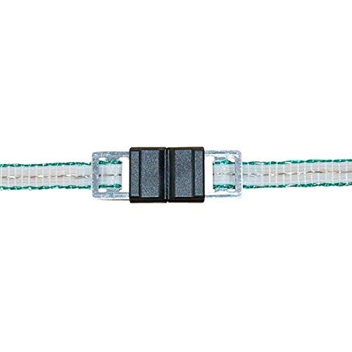 Corral Litzclip Lot de 5 connecteurs Unisexes en Acier Inoxydable 40 mm Transparent 40 mm