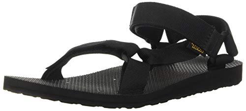 Teva Original Universal Urban Men's, Zapatillas de Atletismo para Hombre, Black (Black), 43 EU