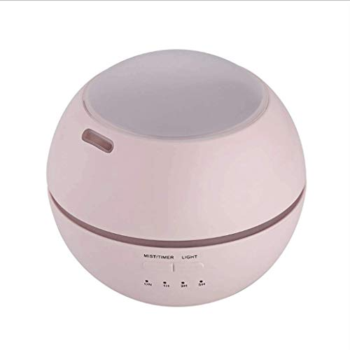 TTEWS Aceite Esencial difusor, 5 en 1 ultrasónico de aromaterapia fragante Aceite humidificador vaporizador, Temporizador de Apagado automático y el Interruptor de Seguridad, 7 Colores de luz LED