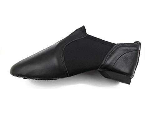 Slip on Jazz Shoes - Zapatos de danza de jazz de neopreno, Jazz y zapatos de baile modernos, color Negro, talla 37 EU