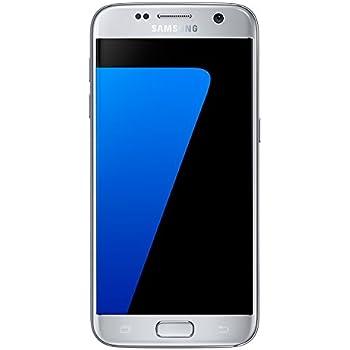 Samsung Galaxy S7 G930F 32GB Factory Unlocked GSM Smartphone - International Version - Titanium Silver