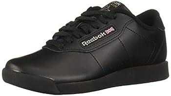 Reebok Women s Princess Sneaker,Black,12 W