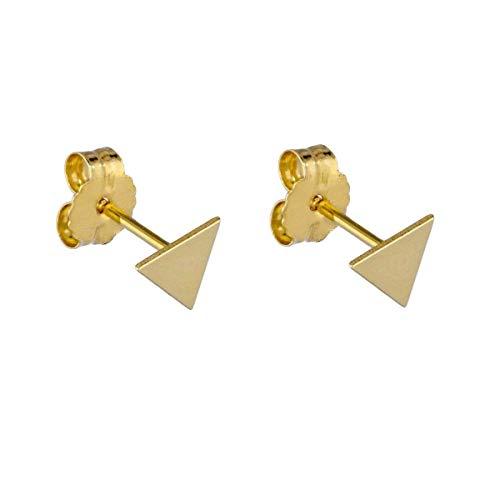 Silver Earrings Diamond Shaped Earrings Geometric Gold Earrings Gold Stud Earrings Gifts For Her Minimalist Stud Earrings