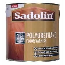 Sadolin Polyurethane Interior Clear Floor Varnish 2.5l