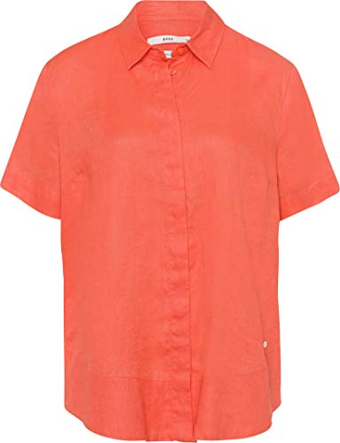 BRAX Damen Style Velia Bluse, Mango, 38