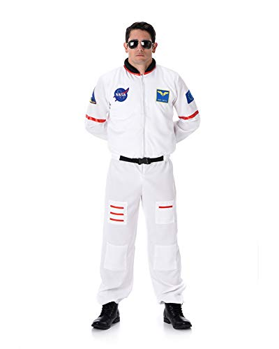 Karnival- Male Astronaut Costume Disfraz, Color blanco, extra-large (82089) , color/modelo surtido