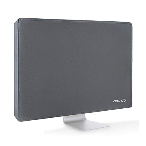 MOSISO Monitor Dust Cover 22, 23, 24, 25 inch Anti-Static Polyester LCD/LED/HD Panel Case Screen Display Protective Sleeve Compatible with 22-25 inch iMac, PC, Desktop Computer and TV, Space Gray