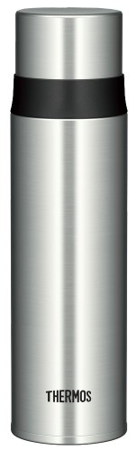 THERMOS ステンレススリムボトル 0.5L ステンレスブラック FFM-500 SBK