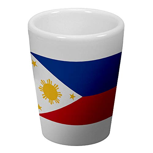 Express It Best Shot Glass - Flag of Philippines Filipino, Pinoy