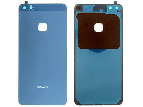 SPES batterijdeksel voor Huawei P10 LITE achterkant accuvakdeksel backcover blauw/plakfolie