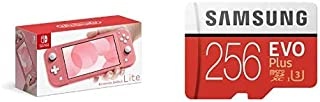 Nintendo Switch Lite コーラル + Samsung EVO Plus 256GB microSDXC