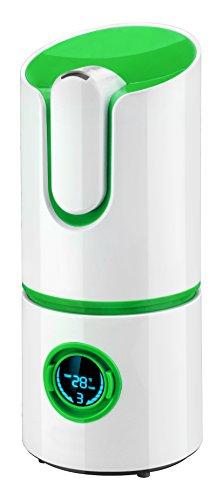 Adler Ultraschall Luftbefeuchter Lufterfrischer Luftreinger AD 7957 g, weiß/grün