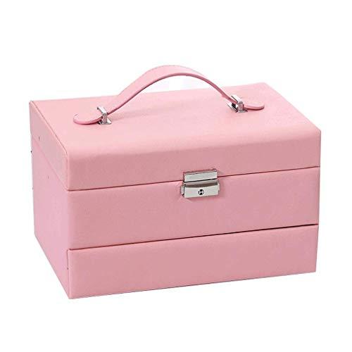 Jewelry Box 24.5 * 18 * 15 cm con Bloqueo Regalos de Boda...