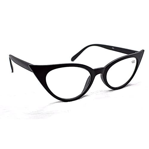 0188a4c6d86 MT57 Retro 1950s 1960s Cat Eye Vintage Fashion Reading Glasses +1.5+2.0+2.5