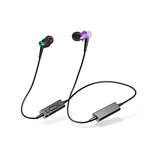 エレコム Bluetooth ブルートゥース イヤホン ワイヤレス 10.0mmドライバー [BASSブースト機能、シェアリング機能、自撮り機能、多彩な機能をワイヤレスで楽しめる] マイク付き Musicians Reference RH1000シリーズ ミックス LBT-RH1000XMX