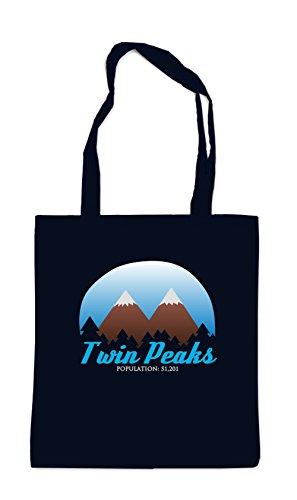 Certified Freak Twin Peaks Stofftasche Black
