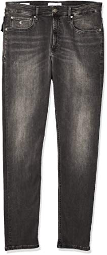 Calvin Klein Ckj 016 Skinny Jeans, Bb010/Grey Zip Vertical, 38W / 32L Uomo