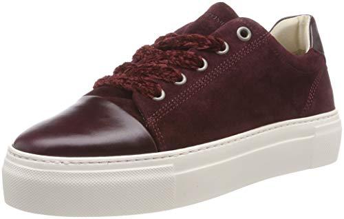 Marc O'Polo Sneaker, Zapatillas Mujer, Rojo Bordo 275, 40 EU