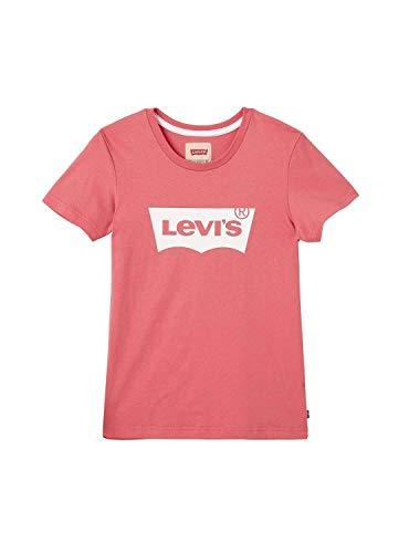 Camiseta Levis Batee Rosa Niña