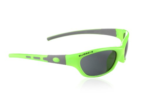Swiss Eye Kinder Sportbrille Young, green grey