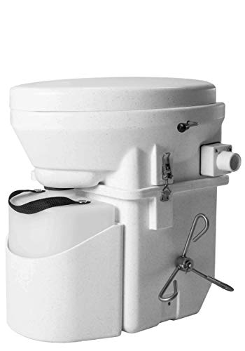 Nature's Head Self Contained Composting Toilet with Foot-Spider Handle