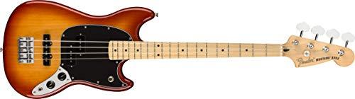 Fender エレキベース Player Mustang® Bass PJ, Maple Fingerboard, Sienna Sunburst 144052547