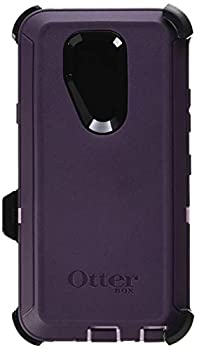 OtterBox Defender Series Case for LG G7 ThinQ - Retail Packaging - Purple Nebula  Winsome Orchid/Night Purple