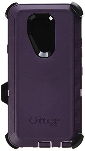 OtterBox Defender Series Case for LG G7 ThinQ - Retail Packaging - Purple Nebula (Winsome Orchid/Night Purple)