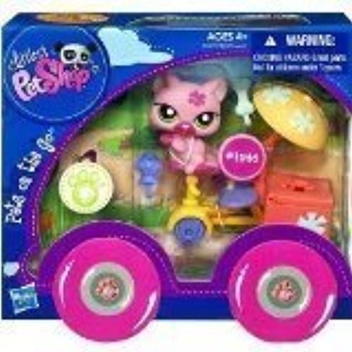 Littlest Pet Shop Pets On The Go Cat With Tricycle  1846 by Littlest Pet Shop
