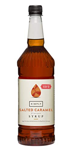 Simply Sugar Free Salted Caramel Syrup 1 Litre