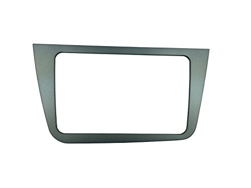 MAXIOU Doppel-Din Autoradio Fascia für SEAT Altea Stereo Frontplatte Rahmen Panel Dash Mount Trim Kit Adapter Frontblende (Rechtslenker)