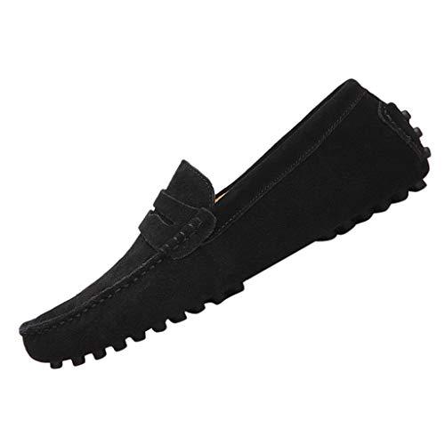 ZARLLE Zapatos Planos Mocasines Zapatos De Hombre