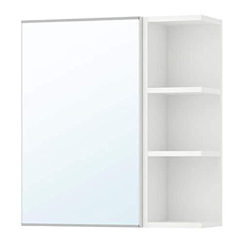 IKEA Spiegelschrank Lillangel 098.939.82 (1 Tür/1 Endeinheit) Weiß