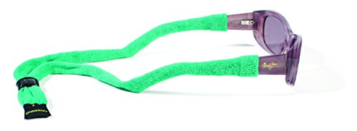 Croakies Brillenhalter aus Baumwolle, Unisex, SUITC70HT, smaragdgrün, 1 Pack Regular