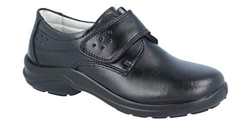 Calzado de Trabajo, para Mujer y Hombre LUISETTI Zapato Línea Blanca 0026Oslo Talla 41 Color Negro
