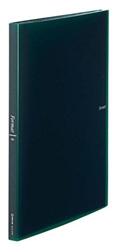 キングジム クリアーファイル フォーマット(透明)40 A4 緑 8172TWミト 8172TWミト 【まとめ買い3冊セット】