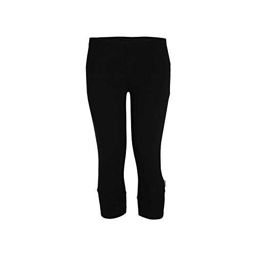 Diadora Sport L.Leggins 3/4 STC, Pantaloni Donna, Nero, S