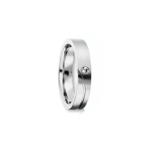 Verlobungsringe von AMOONIC mit Zirkonia Stein Ring Damenring LUXUSETUI für Damen Frauen Silberring Silber 925 Diamant Ehering Trauring Freundschaftsring...