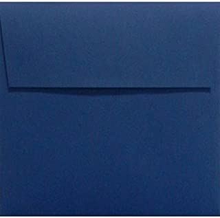 LUX Paper Square Invitation Envelopes for x Boston Mall 6 Navy Cards P Outlet SALE in