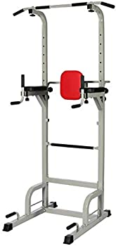 BalanceFrom Power Tower with Push-up, Pull-up and Workout Dip Station