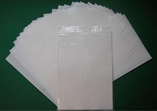 Trenn und Silikonpapier, 102g, weiß, beidseitig, DIN A4, 50 Bögen