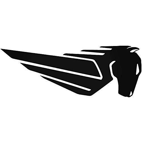 SUPERSTICKI Buell Logo ca 20cm Motorrad Aufkleber Bike Auto Tuning aus Hochleistungsfolie Aufkleber Autoaufkleber Tuningaufkleber Hochleistungsfolie für alle glatten Flächen UV und Waschanl